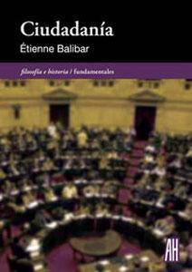 CIUDADANIA: Étienne Balibar