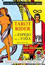 TAROT RIDER - EL ESPEJO DE LA VIDA: Manual para el tarot Rider-Waite (PACK): Mario Montano