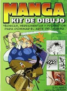 MANGA. KIT DE DIBUJO: Técnicas, herramientas y proyectos para dominar el arte del manga: ...