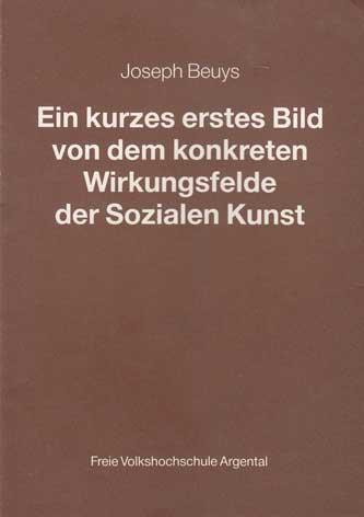 Ein kurzes erstes Bild von dem konkreten: Beuys, Joseph: