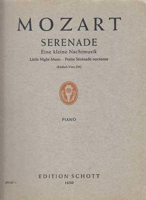 Mozart - Eine kleine Nachtmusik - Serenade: Mozart, W. A.: