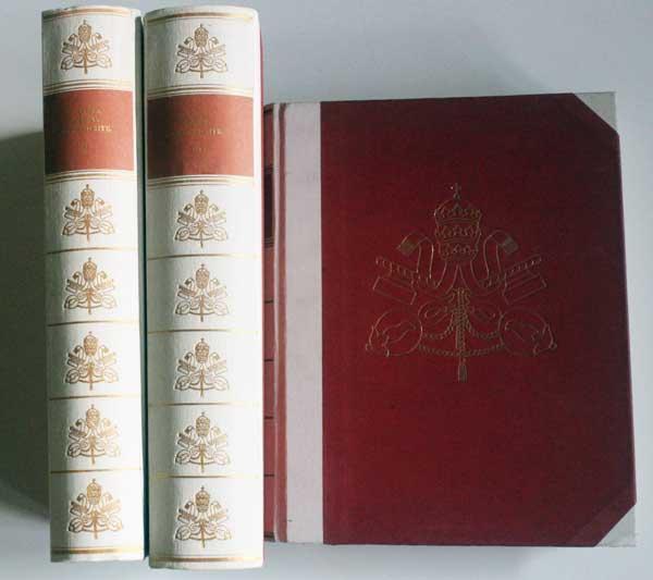 Papstgeschichte. 3 Bände (komplett). I: Von Petrus: Castella, Gaston: