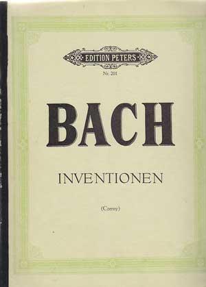 Klavierwerke von Joh. Seb. Bach. Inventionen. Hrsg.: