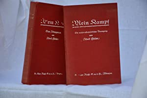 Mein kampf 1926, first edition: Adolf Hitler