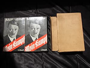 Mein Kampf in two volumes 1937: Adolf Hitler