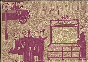 Le palais royal. Erzählt von Jean Cocteau.: Cocteau, Jean u.