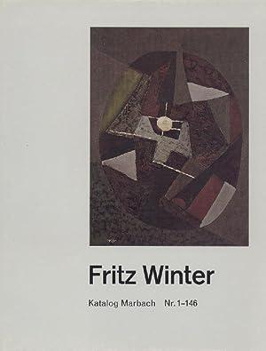 Fritz Winter. Katalog Marbach. Nr. 1-146 und: Winter, Fritz -
