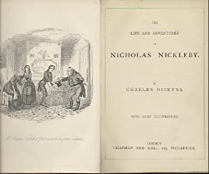The Life and Adventures of Nicholas Nickleby.: Dickens, Charles