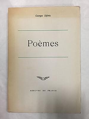 Séféris Georges Poèmes Abebooks
