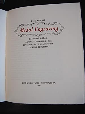 THE ART OF MEDAL ENGRAVING [With an Introduction by Henry Morris]. A Curious Chapter in the ...
