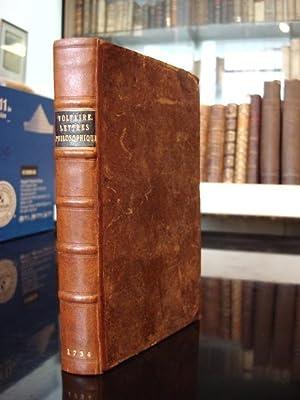 LETTRES ECRITES DE LONDRES SUR LES ANGLOIS ET AUTRE SUJETS.: Voltaire, Francois Marie Arout de