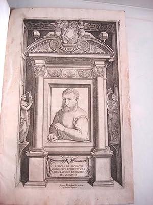 REGOLA DELLI CINQUE ORDINI D'ARCHITETTURA: Vignola, Giacomo Barozzi da (or, Barozzi, Giacomo)
