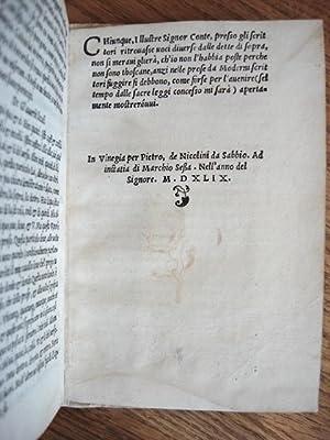 LA GRAMMATICA VOLGARE: Accarisi, Alberto (or, Accarisio, Alberto)