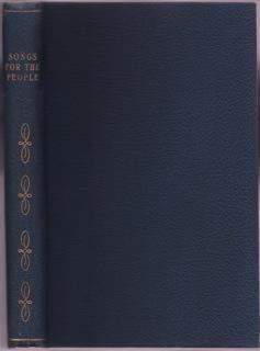 SONGS FOR THE PEOPLE comprising National, Patriotic,: Emerick, Albert G.