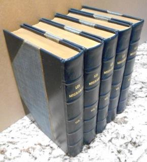 MISERABLES, Volumes I-V complete, Les.: Hugo, Victor 1802-1885.