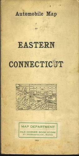 EASTERN CONNECTICUT Automobile Map.