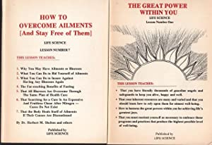Great Power Within You; Life Science Lesson No. 1 [and] How to Overcome Ailments [And Stay Free o...