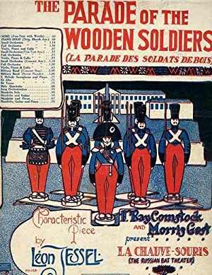 PARADE OF THE WOODEN SOLDIERS, Fox-Trot Song.