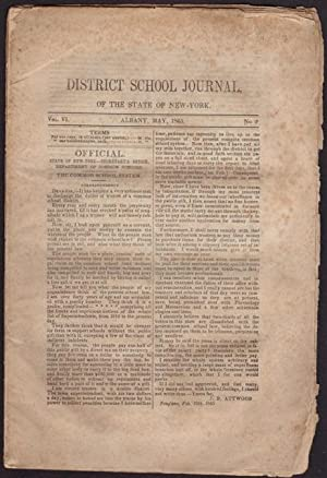 District School Journal of the State of: Attwood, J.B., N.S.