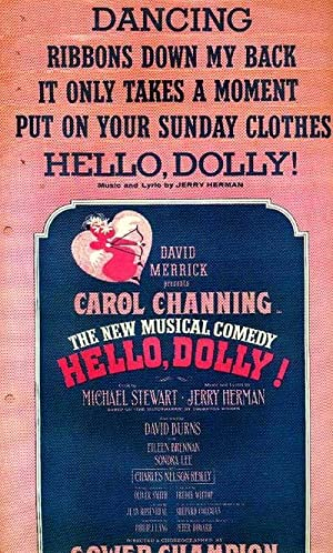 HELLO, DOLLY! (5 Singles) from David Merrick presents Carol Channing: Hello, Dolly!; Put On Your ...