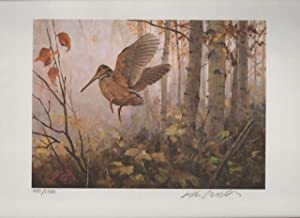1985 Conservation Stamp Print No. 7: American Woodcock series print No. 1