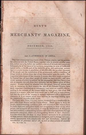 Hunt's Merchants' Magazine. December 1840