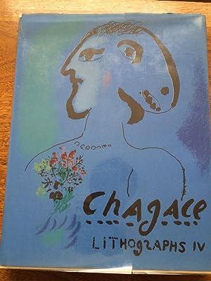 Chagall Lithographs, 1969-1973: Chagall, Marc; Sorlier,