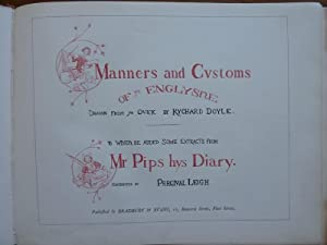 Manners and Customs of Ye Englyshe to