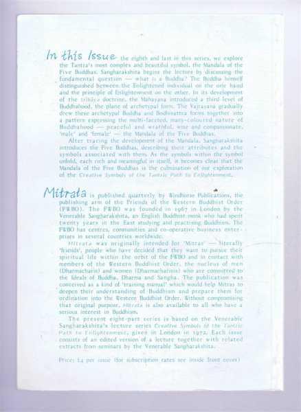 Mitrata 80, Series 8: Creative Symbols of