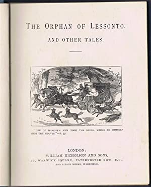The Orphan of Lessonto and Other Tales: translated by Miss Jessie Young
