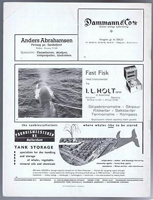 Norsk Hvalfangst-Tidende (The Norwegian Whaling Gazette), Organ For the International Association ...
