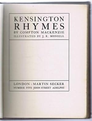 Kensington Rhymes: Compton Mackenzie