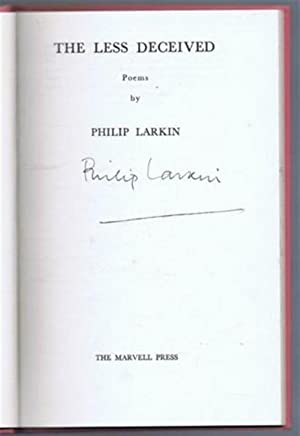 The Less Deceived, poems: Philip Larkin
