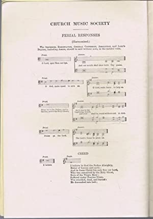 Festival Book of the Lincoln Diocesan Branch 1934: Church Music Society