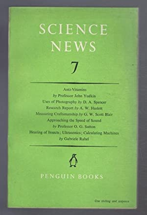 Penguin Science News 7 (VII): John Yudkin, D