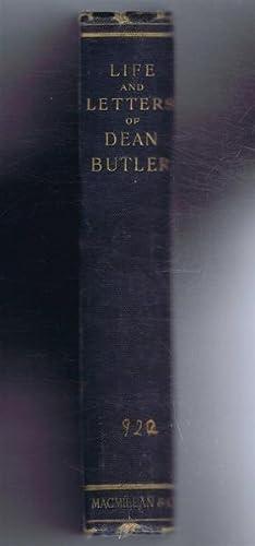 Life and Letters of William John Butler,: William John Butler,