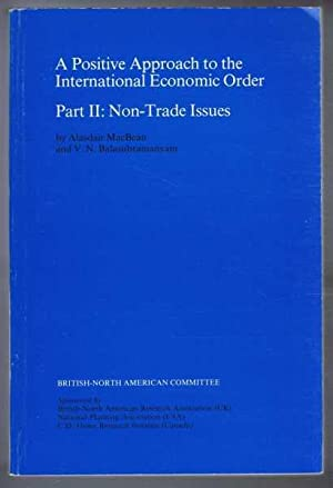 A Positive Approach to the International Economic Order. Part II: Non-Trade Issues