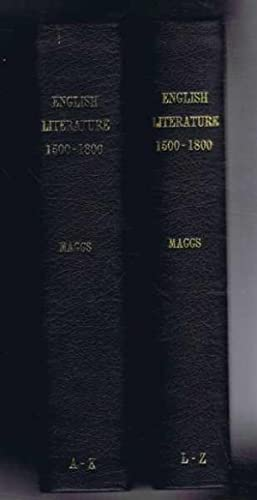 English Literature Prior to 1800. 7 Catalogues bound in Two Volumes: Maggs Bros. Ltd