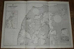 Nautical Chart Nr. 104, Limfjorden, Aalborg -: Royal Danish Hydrographic