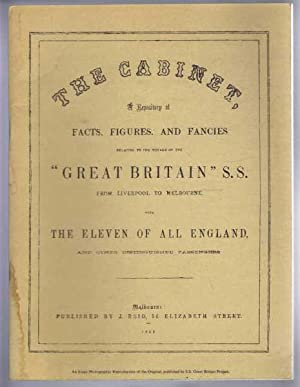 THE CABINET: a Repository of facts, figures,: Reid, Alexander (ed)