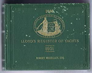Lloyd's Register of Yachts 1951 plus First: Lloyd's Register of