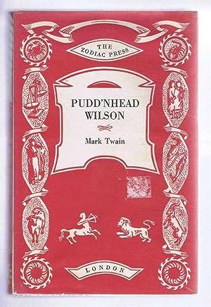 Pudd'nhead Wilson, a Tale: Mark Twain, introduction
