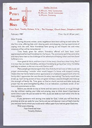Saint Peter's Anlaby News & York Diocesan: Timothy Dickens