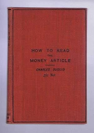 How To Read the Money Article