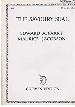 The Savoury Seal, Poem from Katawampus: Poem by Edward