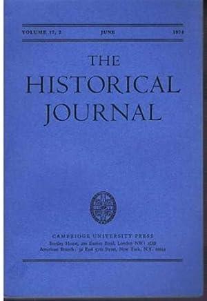 The Historical Journal, Vol. 17 (XVII), No.: Edit. D E