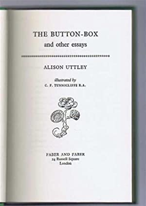 The Button-Box and Other Essays: Alison Uttley