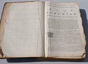 The Universal Family Bible or Christian's Divine Library Containing the Text of the Old and ...
