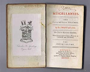 Miscellanies, the Fifth Volume: Dr Swift and others