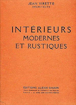 Intérieurs modernes et rustiques